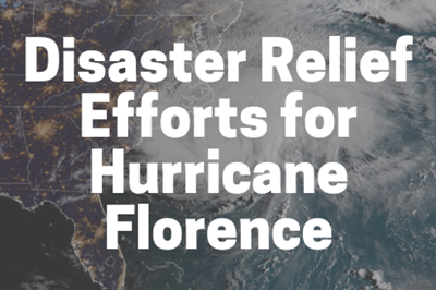 disaster relief efforts for hurricane florence