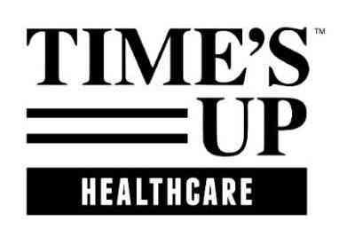 time's up healthcare logo