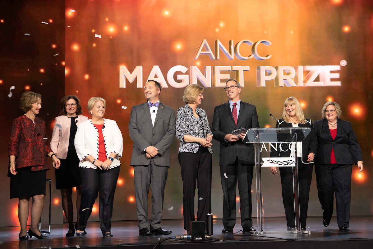 Photo of 2018 ANCC Magnet Prize Winner - Christian Care Health System