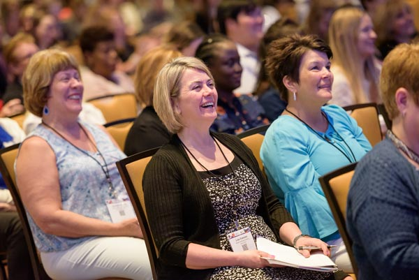 Audience at ANA and ANCC conferences