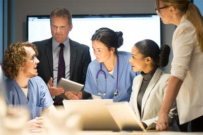 Business and medicine working together