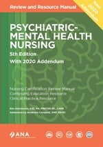 Psychiatric-Mental Health Nursing Review and Resource Manual 5th Edition