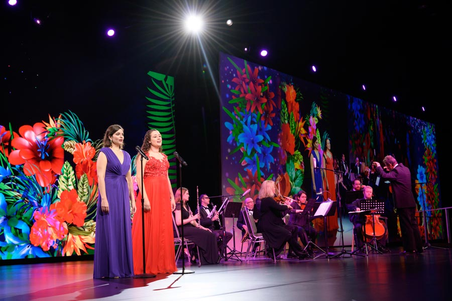 Opera Orlando at 2019 Magnet Conference opening