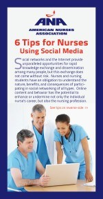 Tip Cards: Social Media Networking For Nurses