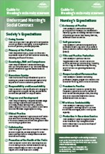 Guide to Nursing's Social Policy Statement Bookmarks